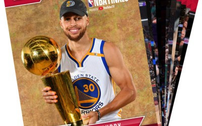 Panini Releases Special Commemorative Set for Warriors' 3rd Title in 4 Years