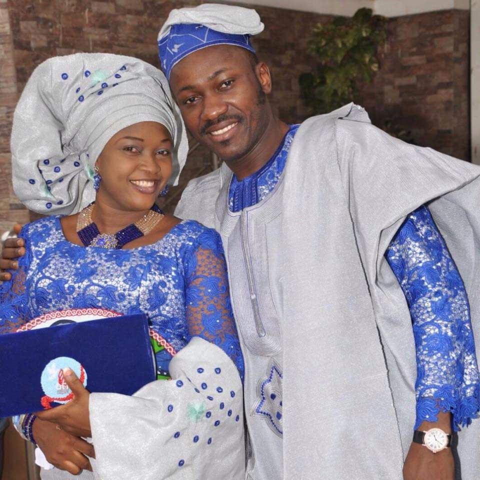 how did apostle johnson suleman meet his wife