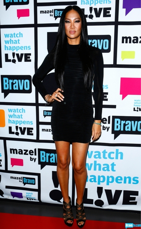 kimora lee simmons- watch what happens live- NYC