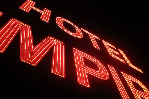 Hotel Empire Sign NYC