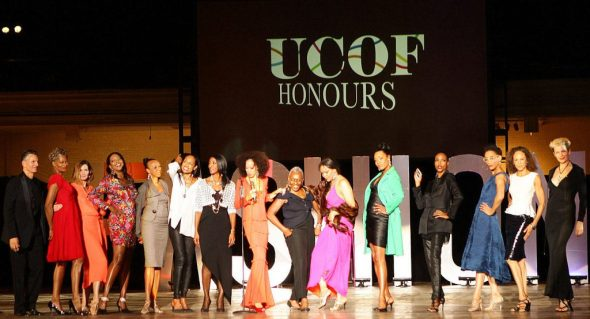 Pat Cleveland Bethann Hardison United Colors of Fashion Gala-001