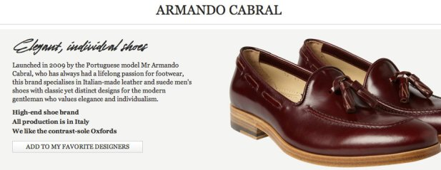 Armando Cabral shoes mr porter