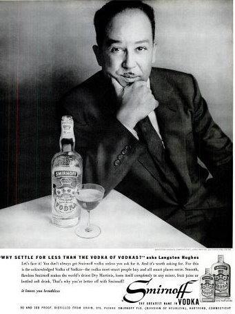 langston hughes_smirnoff vodka model
