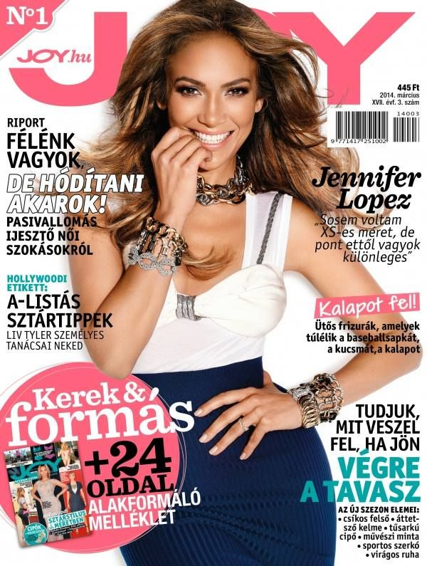Jennifer Lopez for JOY magazine (Hungary Edition).