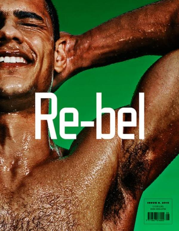 Re-bel Magazine, Model Jordan Matheson, Obama Sexy, Barack Obama sexy, President Obama smile