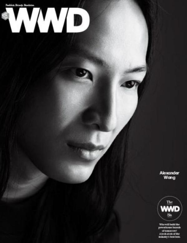 Alexander Wang WWD Magazine