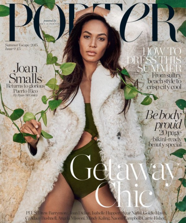 Joan Smalls Porter Magazine