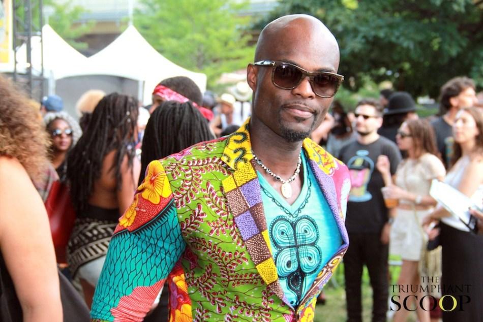 Afropunk Stylish African man