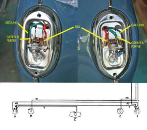TR3A Tail Light wiring question : TR2 & TR3 Forum : Triumph Experience Car Forums : The Triumph