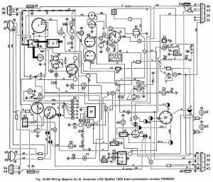 Found a good 1980 Spitfire wiring diagram : Spitfire