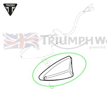 Triumph Tiger Blinkerglas Rv Lh Rhf Lhr Tiger