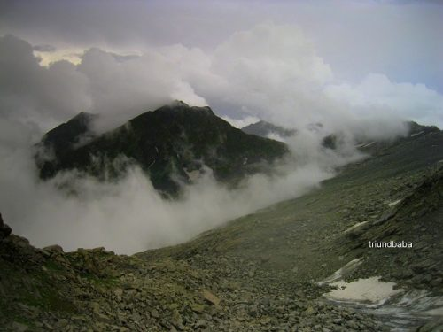 Chamba Side from Indrahar Pass Dhauladhar