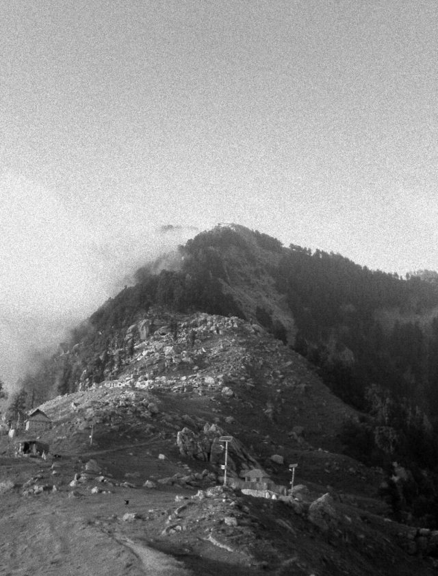 Triund Hill, that once was the Jewel of Dharamsala
