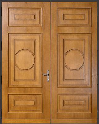 German Copper Security Doors