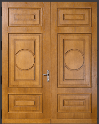 German Copper Security Doors