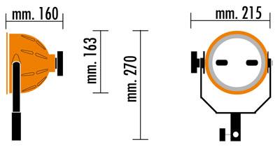 Mandarine Cosmolight RC80