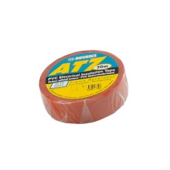 """TAPE PVC ISOLATION  AT7 """"BARNIER"""" 19mm*20m ROUGE"""
