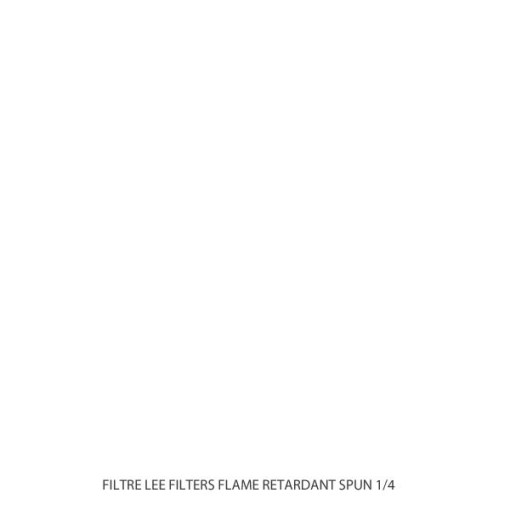 ROULEAU DE FILTRE LEE FILTERS 265 FLAME RETARDANT SPUN 1/4