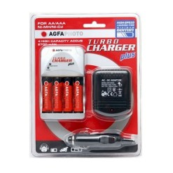 CHARGEUR DE PILES AGFA TURBO CHARGER