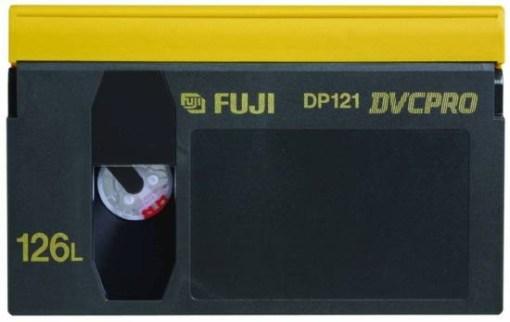 K7 DVCPRO FUJI 126' L