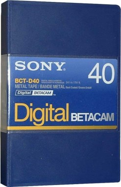 K7 DIGITAL BETA SONY 40'