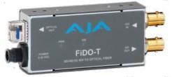 CONVERTISSEUR SD/HD/3G-SDI VERS FIBRE AJA FIDO-T