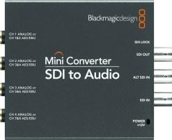 Blackmagic Design Mini Converter SDI vers Audio - Convertisseur