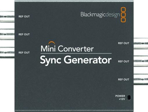 Blackmagic Design Sync Generator - Générateur de synchro