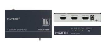 DISTRIBUTEUR AMPLIFICATEUR HDMI 1:2 KRAMER