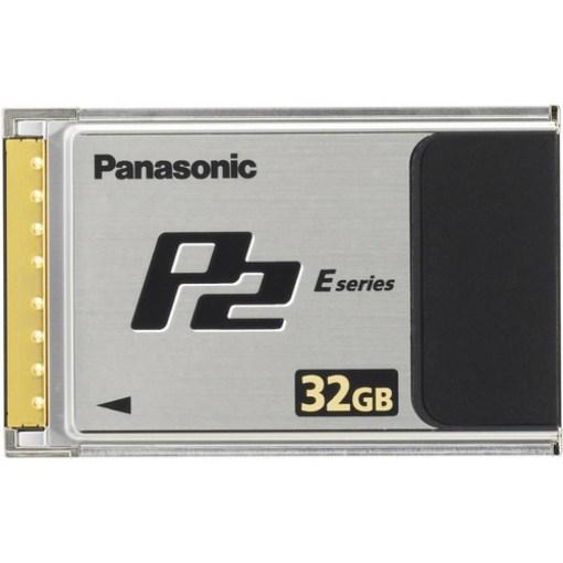 CARTE P2 32 GB SERIE F PANASONIC AJ-P2E032FG