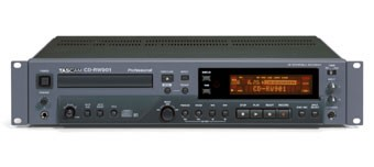 Tascam CD-RW 901 - Enregistreur Audio