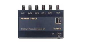 DISTRIBUTEUR AMPLIFICATEUR VIDEO 1*5 BNC KRAMER