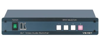 SELECTEUR 4X1 VIDO COMPOSITE AUDIO STRO