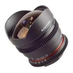 Optique Samyang VDSLR 8mm T3.8 mont EOS