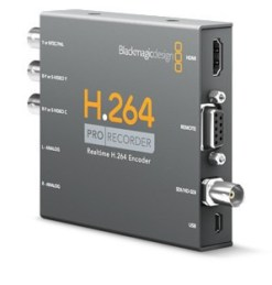 Blackmagic Design H.264 PRO Recorder - Encodeur