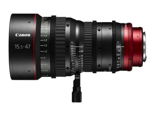 Canon Compact Zoom Cine Lens CN-E 15.5-47mm T2.8 Monture PL - Objectif Zoom Cinéma