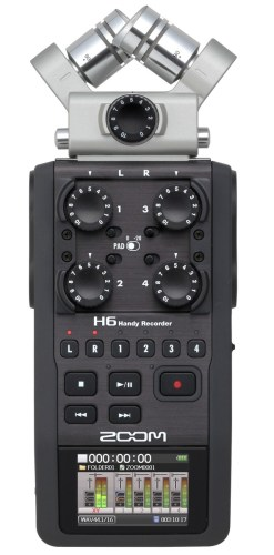 ZOOM H6 - Enregistreur Audio