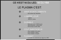 PROJECTEUR PLASMA HIVE KILLER