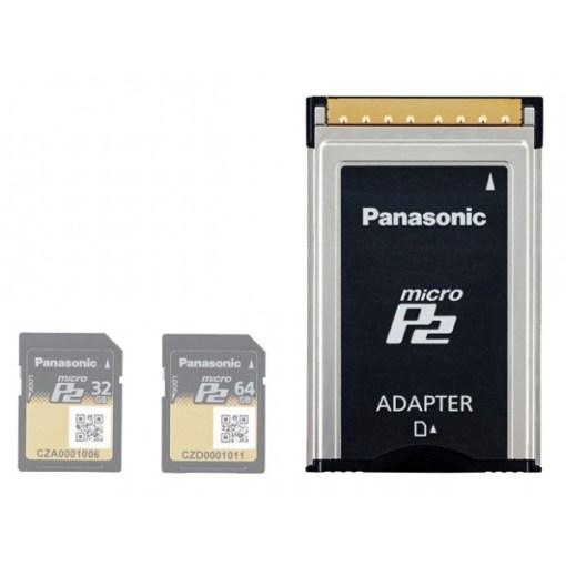 ADAPTATEUR MICROP2 PANASONIC AJ-P2AD1