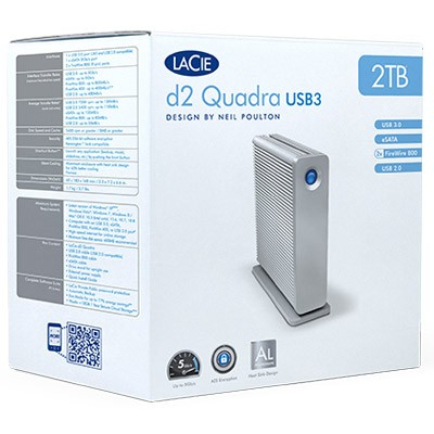 DISQUE DUR 4 TO LACIE D2 QUADRA USB3