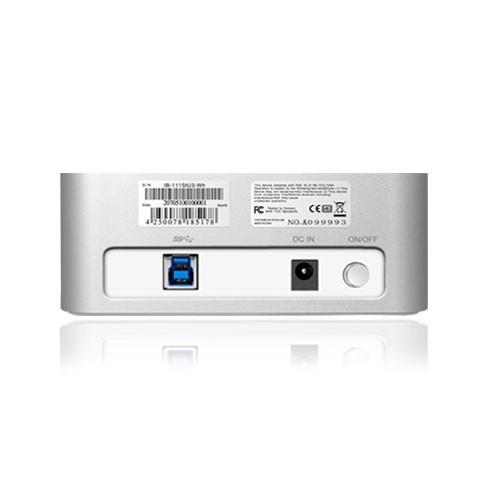 DOCK POUR DISQUE 2.5 ET 3.5 USB3 ET E-SATA