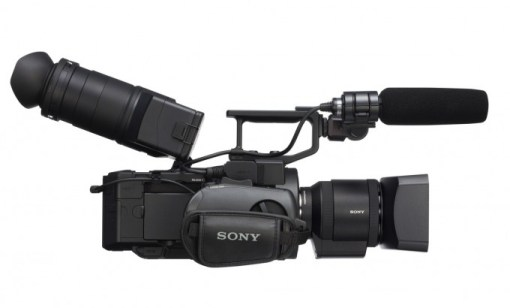 Sony NEX-FS700R 4K sans optique - Caméra d'épaule