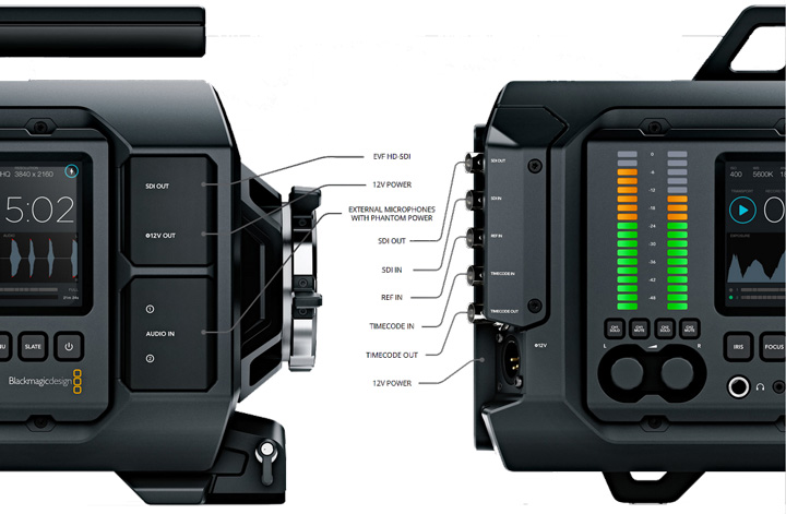 Blackmagic Design URSA Monture PL - Caméra