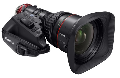 Canon Cine Servo 4K CN 7x17 KAS S / E1 Monture EF - Objectif Zoom