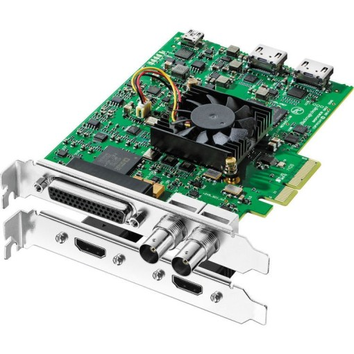 CARTE D'ACQUISITION BLACKMAGIC DECKLINK STUDIO 4K