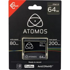 CARTE CFAST ATOMOS 64GB