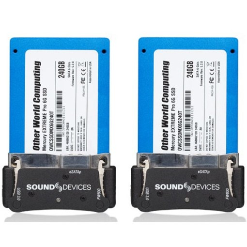 DISQUES SSD SOUND DEVICES XM-CADDY PACK