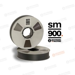 BANDE SM900 762 metres 2'' Bobine Metal NAB Boite