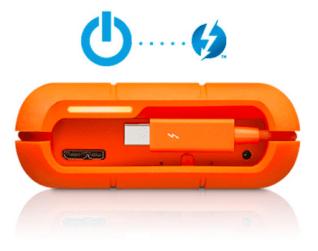 Lacie Rugged RAID - Aucun câble d'alimentation requis