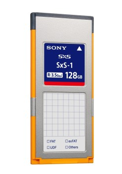 CARTE SONY SxS-1 128 GB